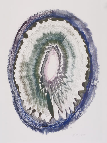 Agate no.10, Ink Monotype, Artist's collection