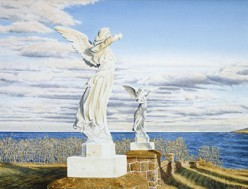 Heavens's Gate, Private collection, New-Brunswick